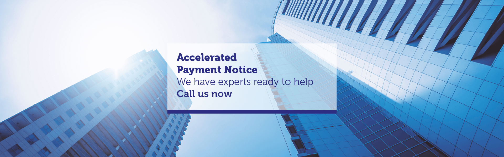 Accelerated Payment Notice