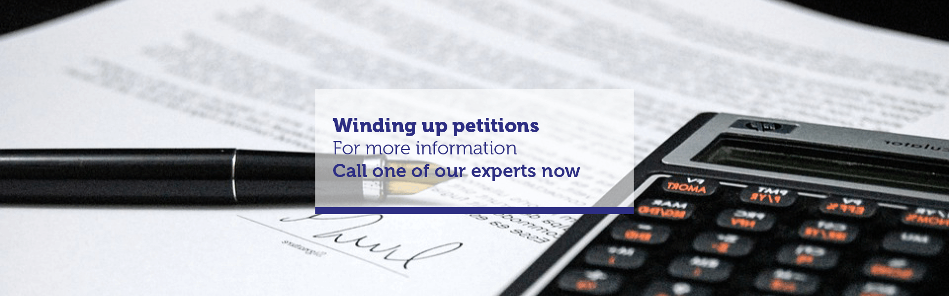 Winding Up Petitions