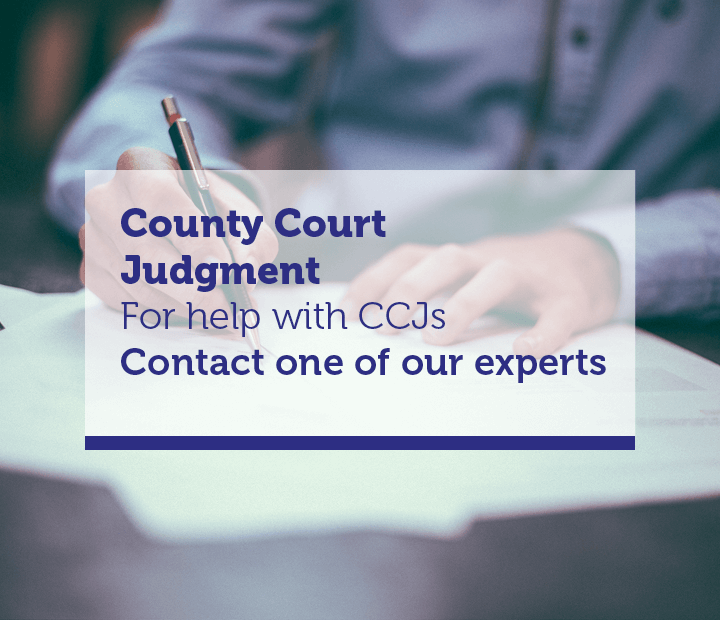County Court Judgement Advice